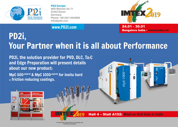 IMTEX 2019: Indian machine and Tool Exhibition - pd2i