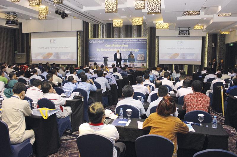 PVD Coating Seminar in Indonesia