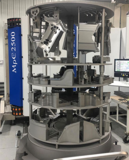 Machine PD2i MpC 2500, the solution to coat big molds and dies with PVD